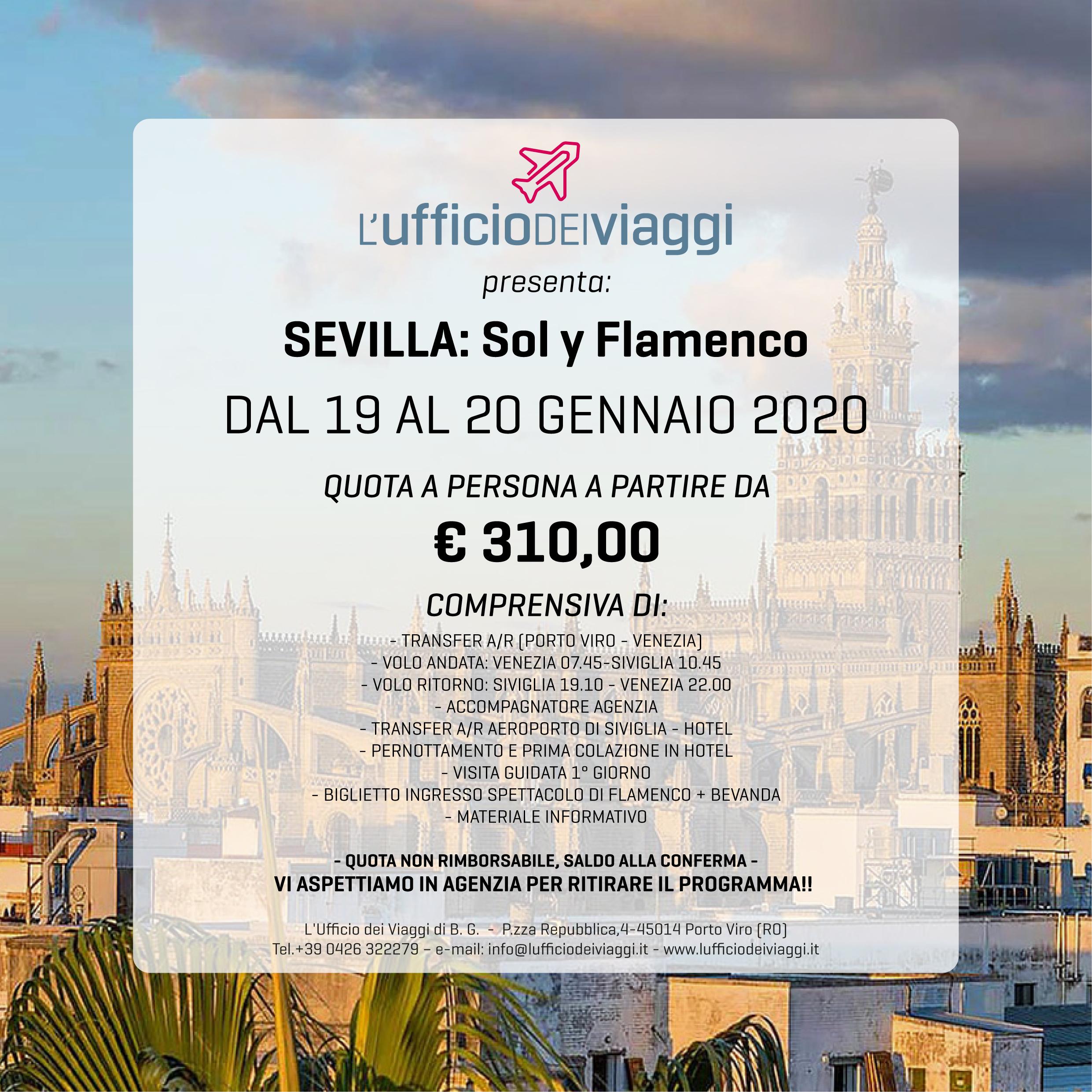 Sevilla sol y flamenco
