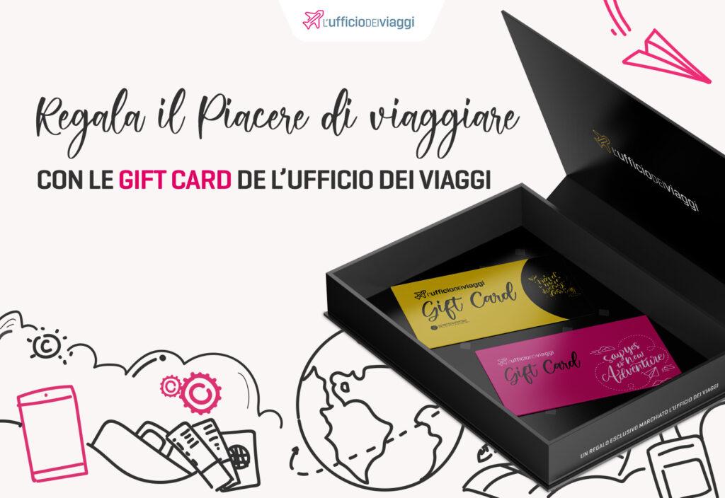 Sei a corto di idee per il regalo di Natale? Travel Gift Card fa al caso tuo!